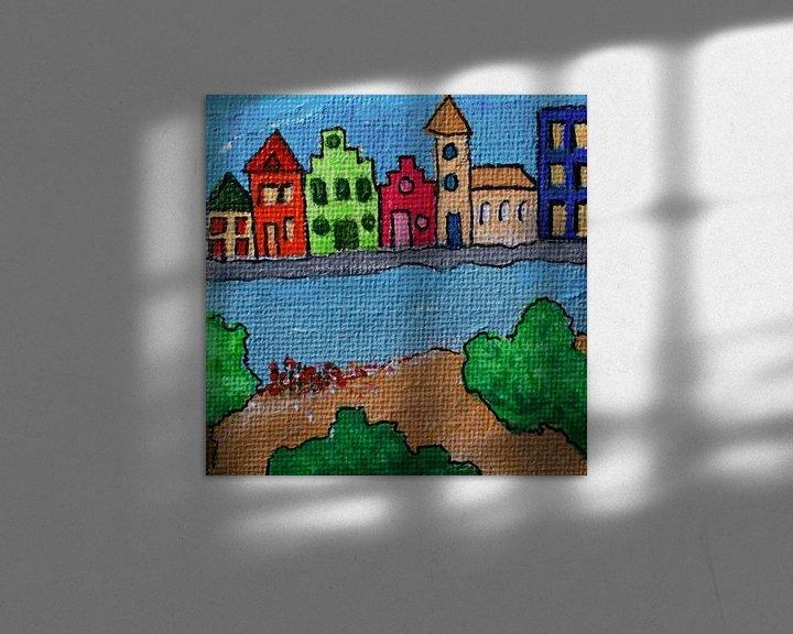 Sfeerimpressie: Huis aan het water van Angelique van 't Riet