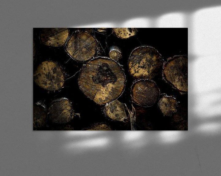 Impression: A Wall  of Logs sur Arc One