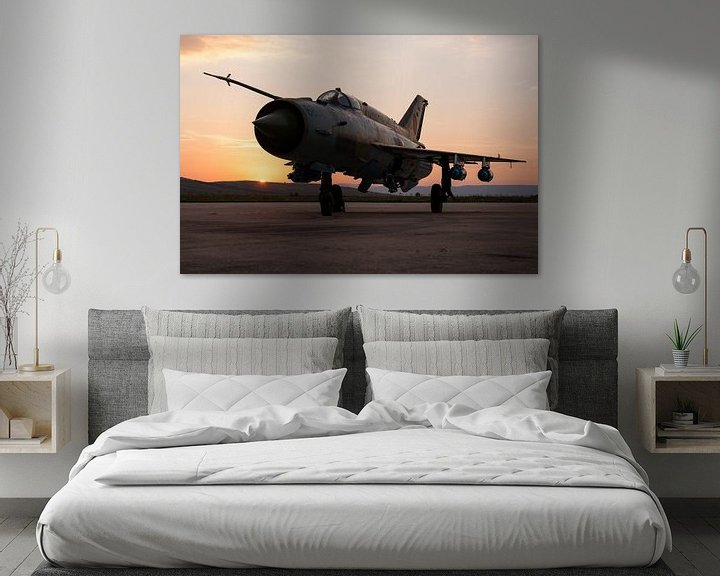 Sfeerimpressie: Roemeense Luchtmacht MiG-21 LanceR A van Dirk Jan de Ridder