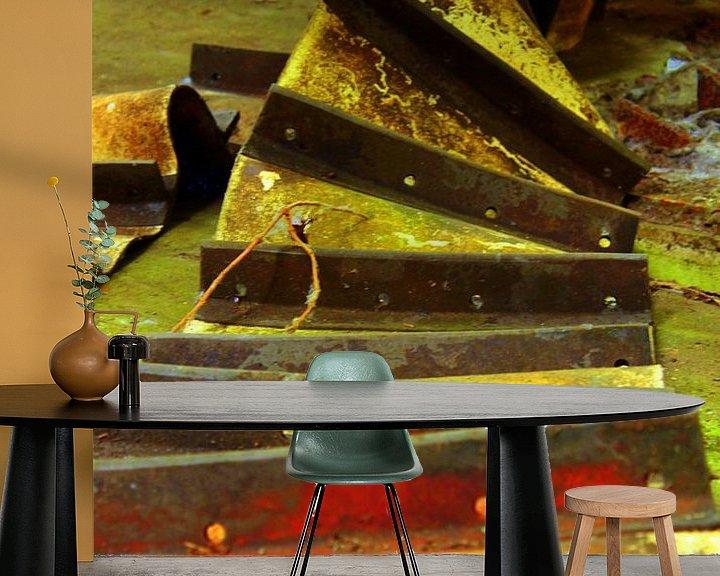 Beispiel fototapete: Maschine von Jolanda Kars