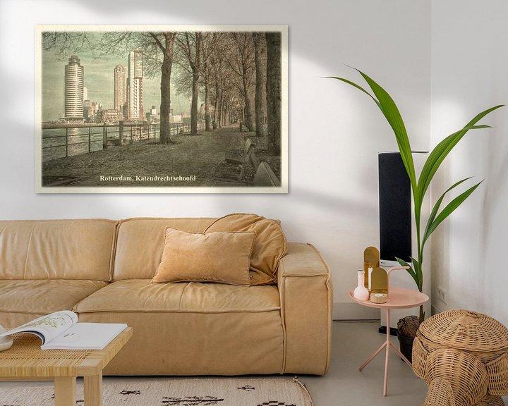 Sfeerimpressie: Oude ansichten: Rotterdam Katendrechtse Hoofd van Frans Blok