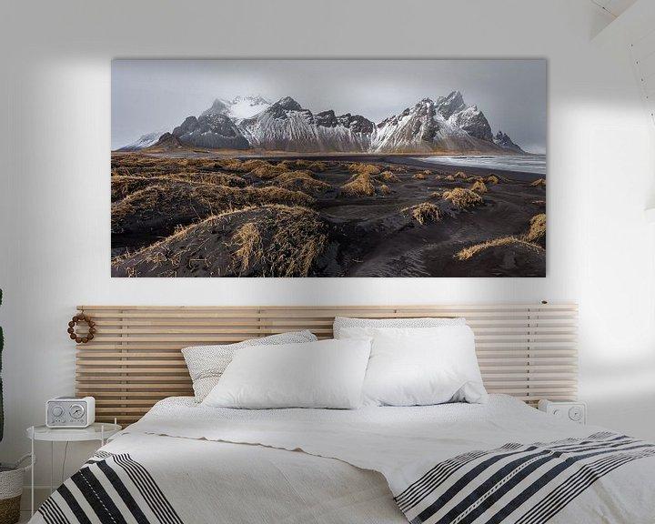 Beispiel: Landschaft in Island von Albert Mendelewski