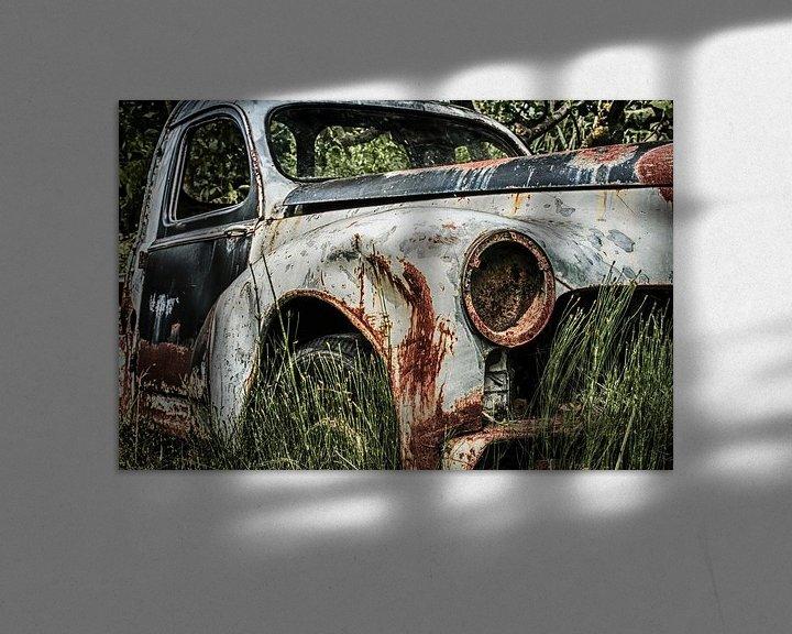 Beispiel: Old rusty Peugot  von Freddy Hoevers