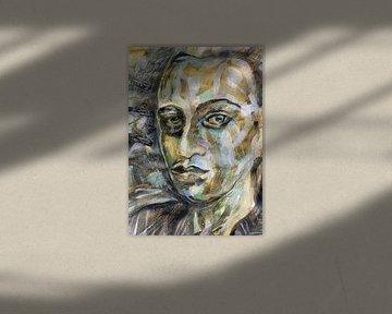 Kijkend van een afstand van ART Eva Maria