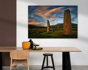 Machrie Moor Megalith van Wojciech Kruczynski