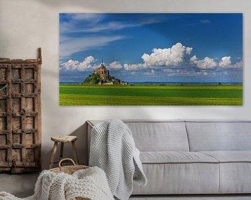 Mont Saint-Michel - Normandie - Frankreich von Henk Meijer Photography