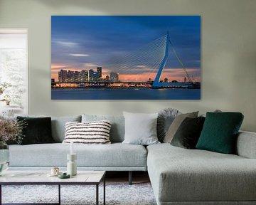 Erasmus-Brücke, Rotterdam von Henk Meijer Photography