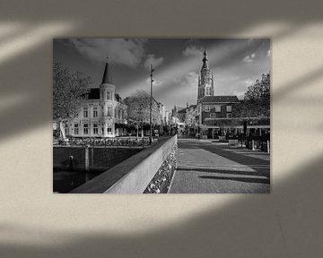 Stadtbild Breda Hohe Brücke von JPWFoto