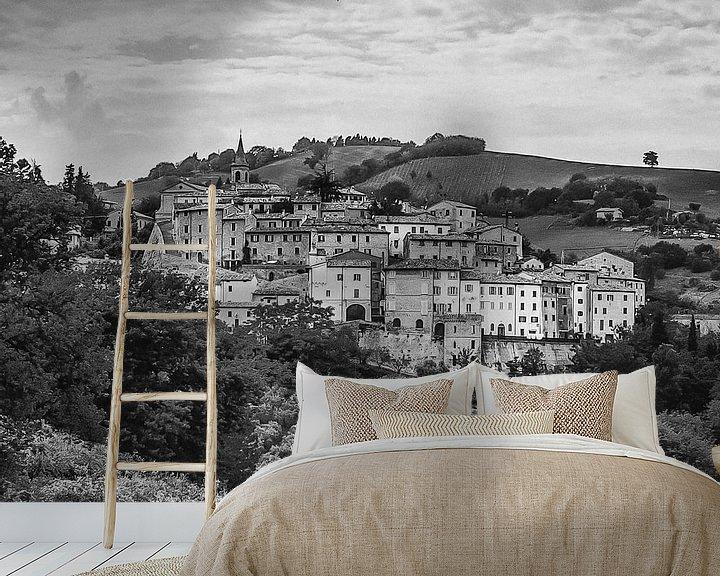 Sfeerimpressie behang: Dorp in Marken, Italië van arjan doornbos