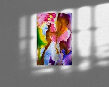 Diverse kleuren inkt van angelique van Riet