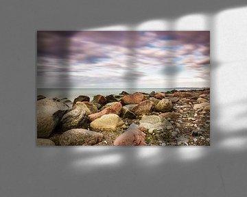 Steine an der Küste der Ostsee von Rico Ködder