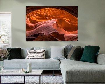 Antelope canyon Lower van Robert Dibbits