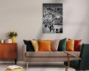 Italienische Hochzeit in Matera in Schwarz und Weiß von iPics Photography