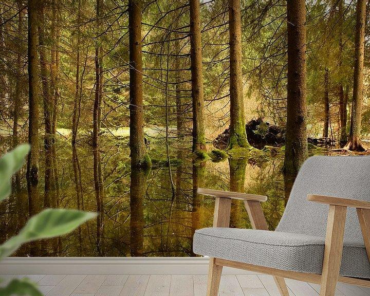 Sfeerimpressie behang: Reflection van Sran Vld Fotografie