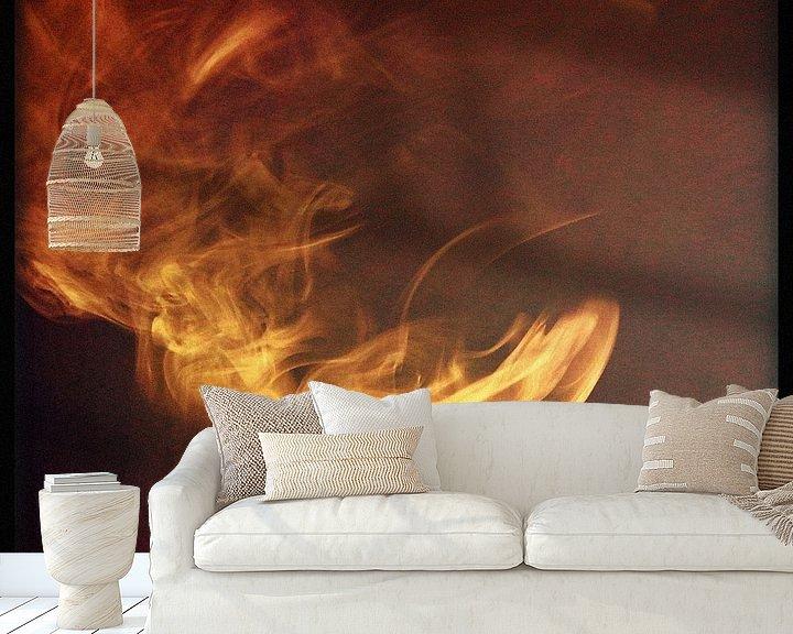 Sfeerimpressie behang: Rook van Kuba Bartyński