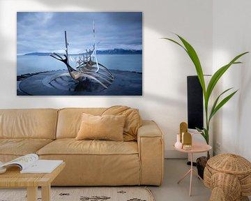 Vikingschip Sun Voyager van Marcel Alsemgeest