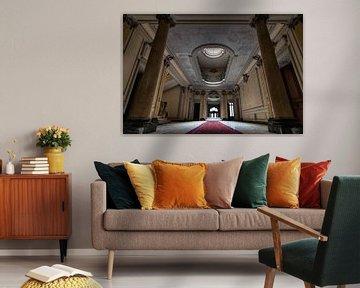 Chateau Lumiere - Urban exploring Frankrijk von Frens van der Sluis