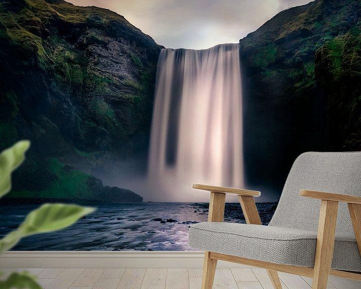 Sfeerimpressie behang: Powerful nature van Georgios Kossieris