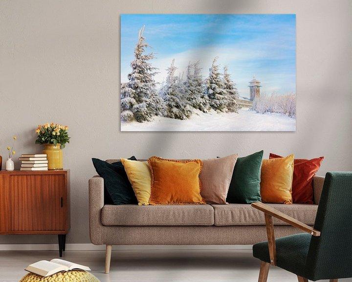 Sfeerimpressie: Winter in het Fichtelberghaus van Daniela Beyer