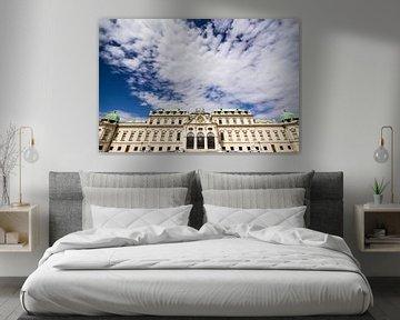 Slot Belvedere in Wenen van Marcel Alsemgeest
