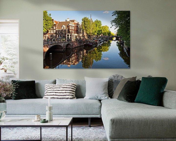 Sfeerimpressie: Brouwersgracht Amsterdam van Tom Elst