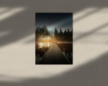 Loopbrug Bakkeveen von Peter Grannetia