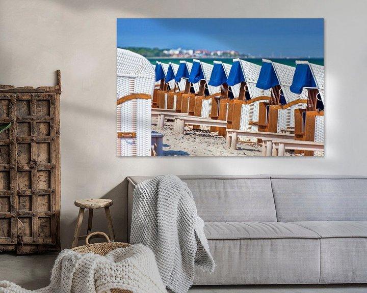 Beispiel: Strandkörbe in Reih und Glied von PhotoArt Thomas Klee