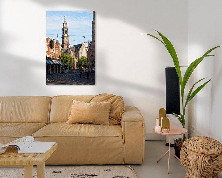 Sfeerimpressie: Westerkerk Amsterdam van Tom Elst