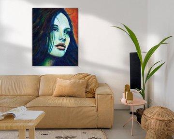 BlueMonday von Lucienne van Leijen