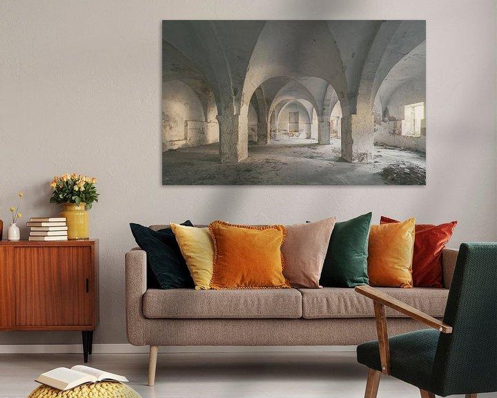Beispiel: Verlaten plekken: textielfabriek 2 von Olaf Kramer