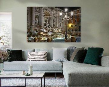 Der Trevi-Brunnen in Rom von Joachim G. Pinkawa
