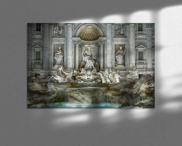 Impression: Trevi-Brunnen Rom sur Joachim G. Pinkawa
