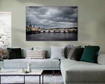 Karelsbrug in Praag van Marcel Alsemgeest