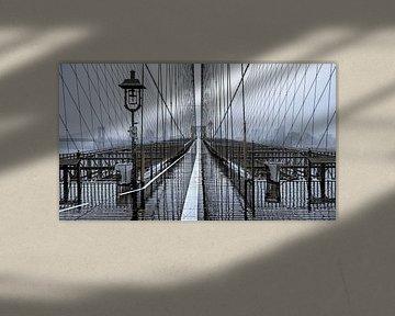 Brooklyn Bridge Pedestrian Walkway von Nico Geerlings