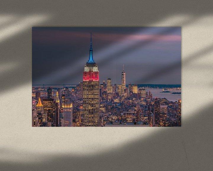 Sfeerimpressie: United Colors from the Empire State Building van Nico Geerlings