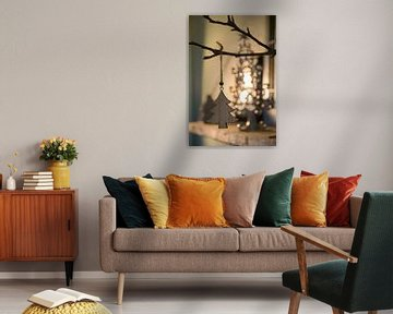 Abstracte boom in een boom von Mika Leinders