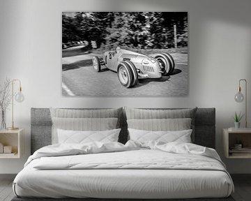 Auto Union Grand Prix Rennwagen Typ C V16 von Sjoerd van der Wal