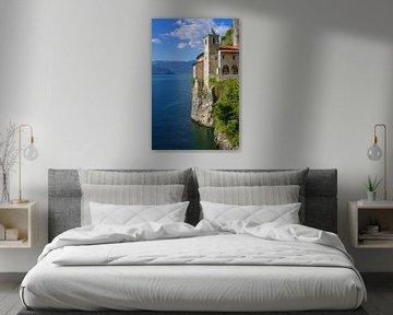 Santa Caterina del Sasso am Lago Maggiore von Gisela Scheffbuch