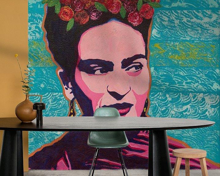 Beispiel fototapete: Frida von Lucienne van Leijen