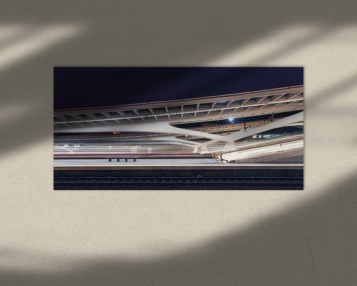 Sfeerimpressie: Station Luik-Guillemins  van Capture the Light