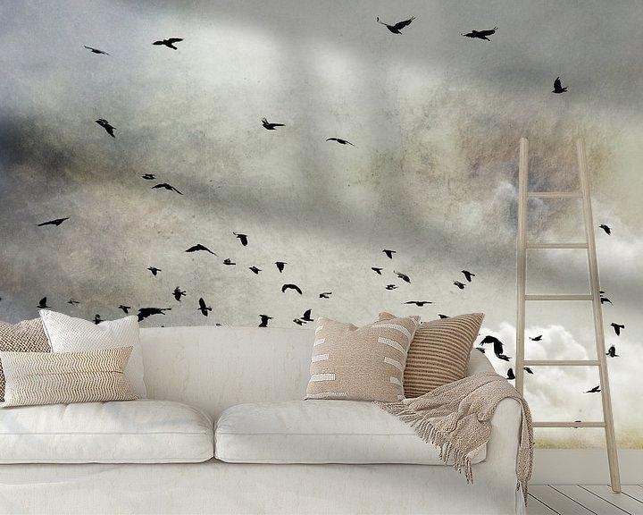 Sfeerimpressie behang: Wings van Jenny de Groot