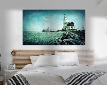 Lighthouse Scenery van Ruud van den Berg