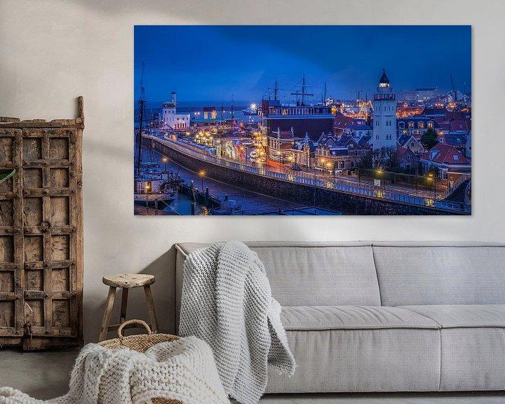 Sfeerimpressie: Harlingen, Nederland van Edwin Kooren