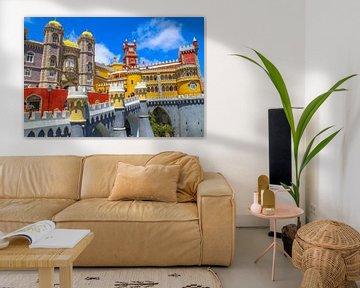 De paleis van Pena - Sintra von Omri Raviv