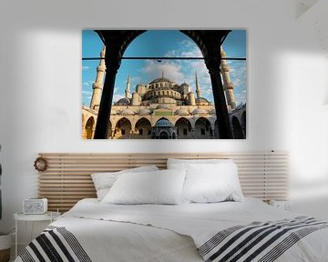 Blauwe Moskee Istanbul von Ali Celik