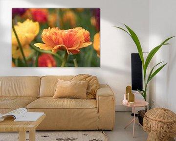Orangefarbene Tulpen | Keukenhof von Marianne Twijnstra-Gerrits