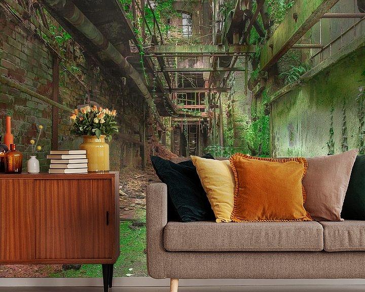 Sfeerimpressie behang: Industrial nature van Olivier Photography