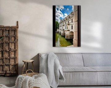 Ansicht von innen oder von Chateau de Chenonceau, Frankreich von Fotografiecor .nl