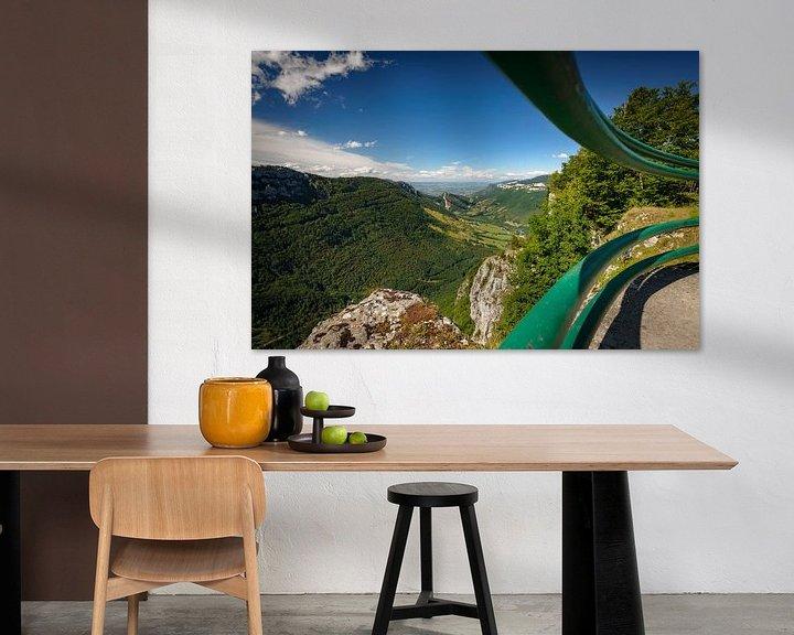 Sfeerimpressie: Prachtig uitzicht op steile hellingen in diepe valleien van Fotografiecor .nl