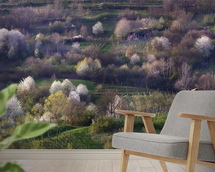 Sfeerimpressie behang: Heerlijk lente! van René Pronk
